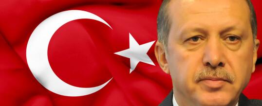 НАЦИОНАЛНО ЕДИНСТВО награди Ердоган с грамота